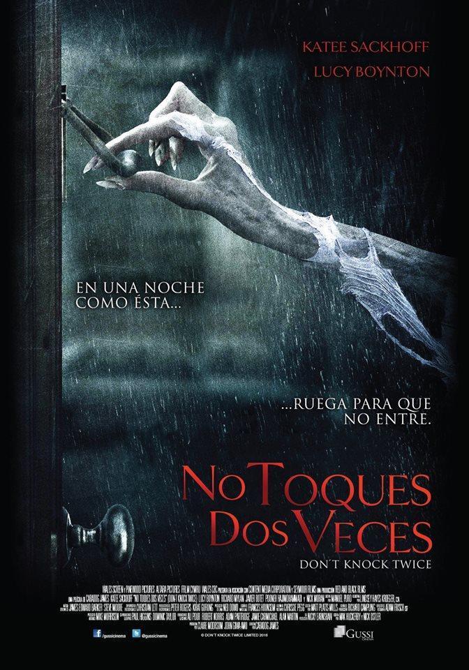 No Toques Dos Veces (BRRip Latino – Ingles 1080p) 2016