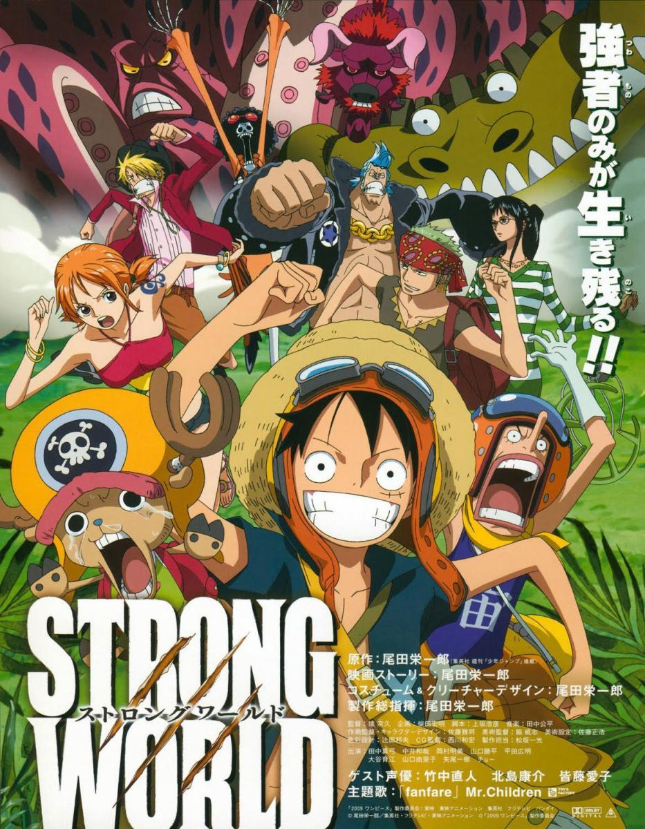 One Piece: Strong World (2009) - Filmaffinity