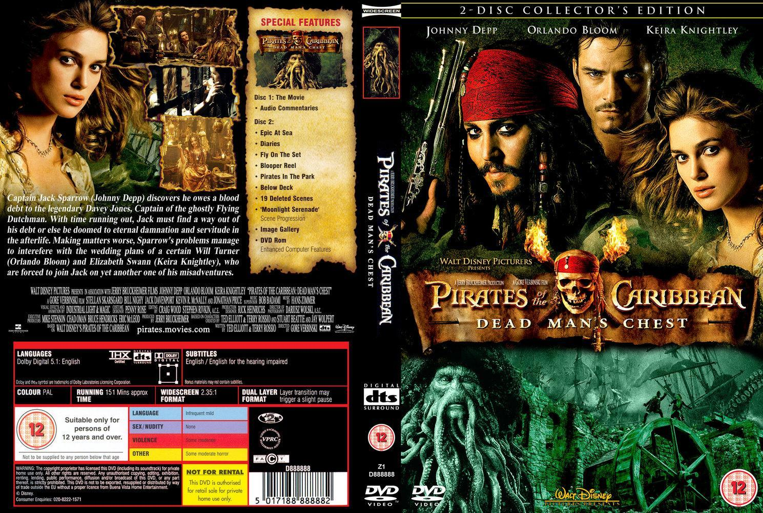 Image Gallery For Pirates Of The Caribbean Dead Man S Chest Filmaffinity