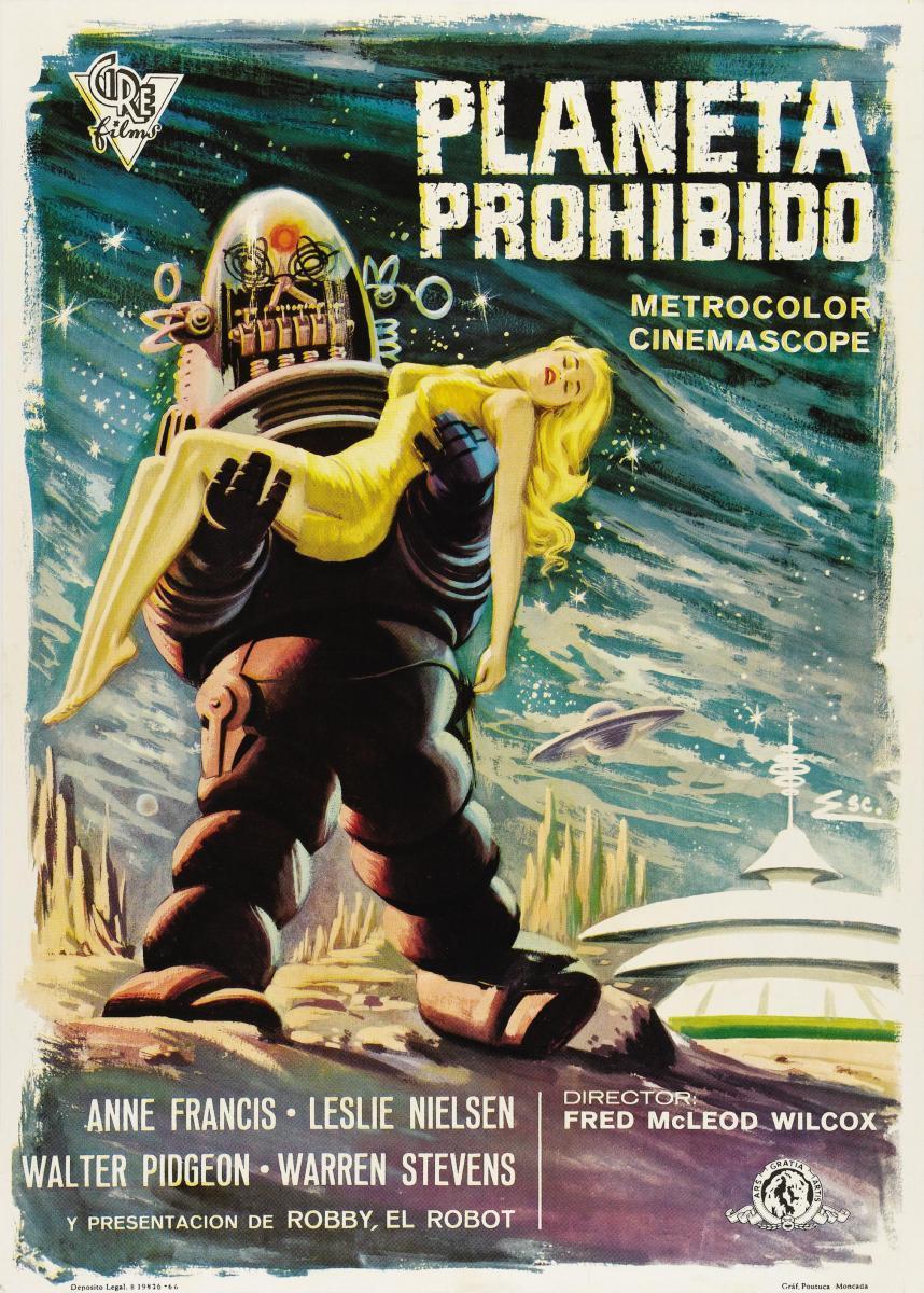 Cine Robótico  - Página 3 Planeta_prohibido-897597125-large