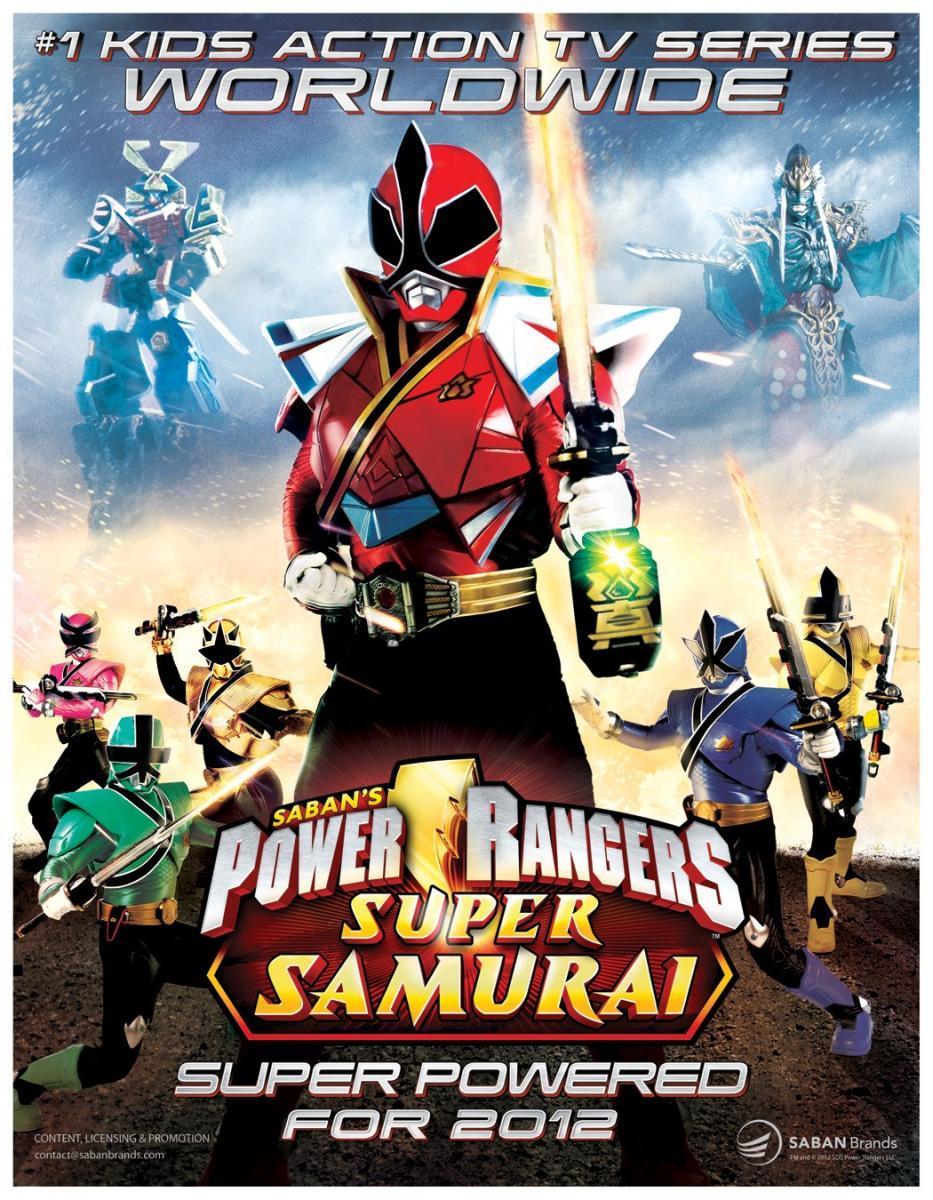 Capitulos de: Power Rangers: Samurai