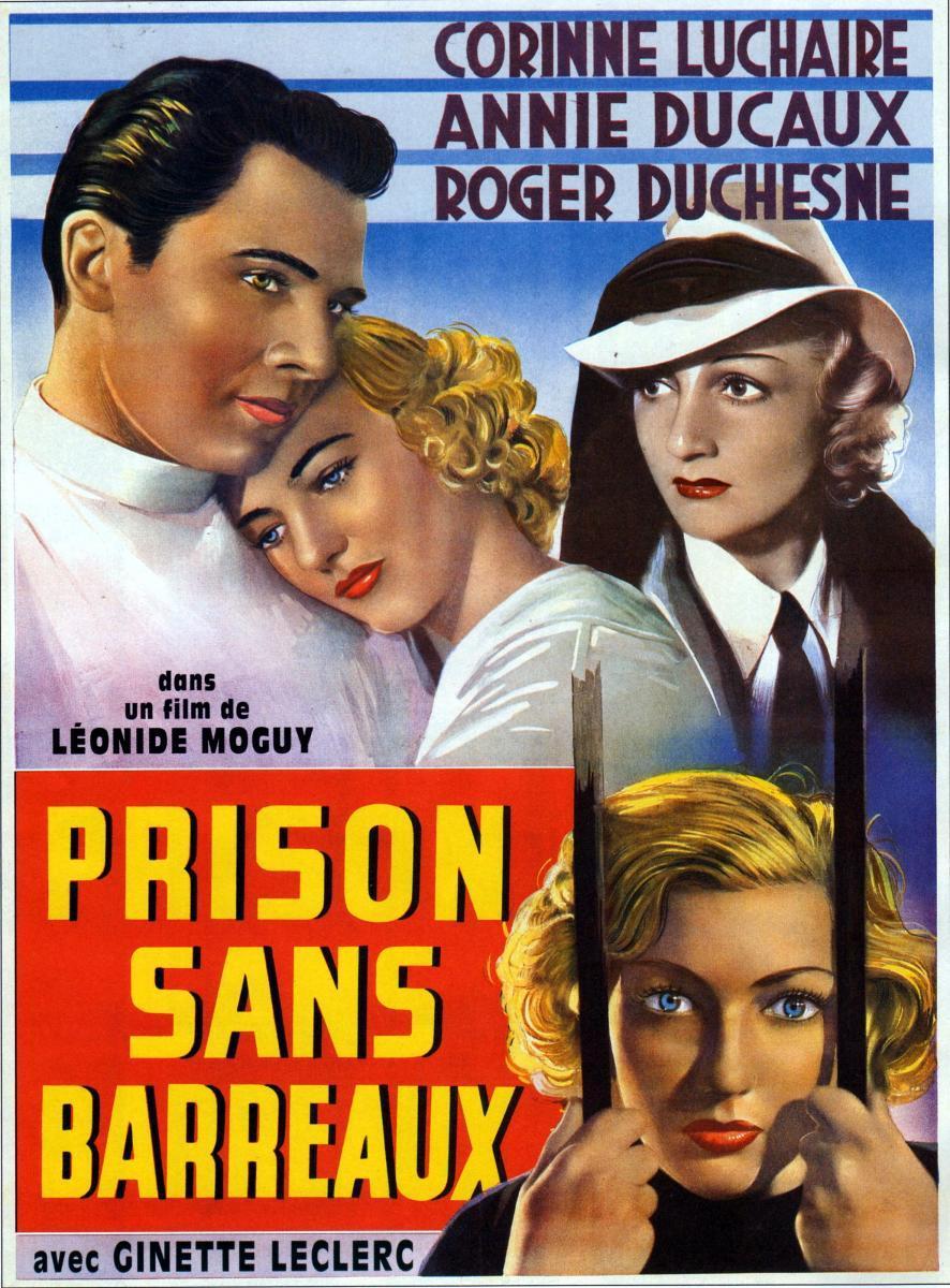 Prison sans barreaux (Prison Without Bars) 1938 French poster