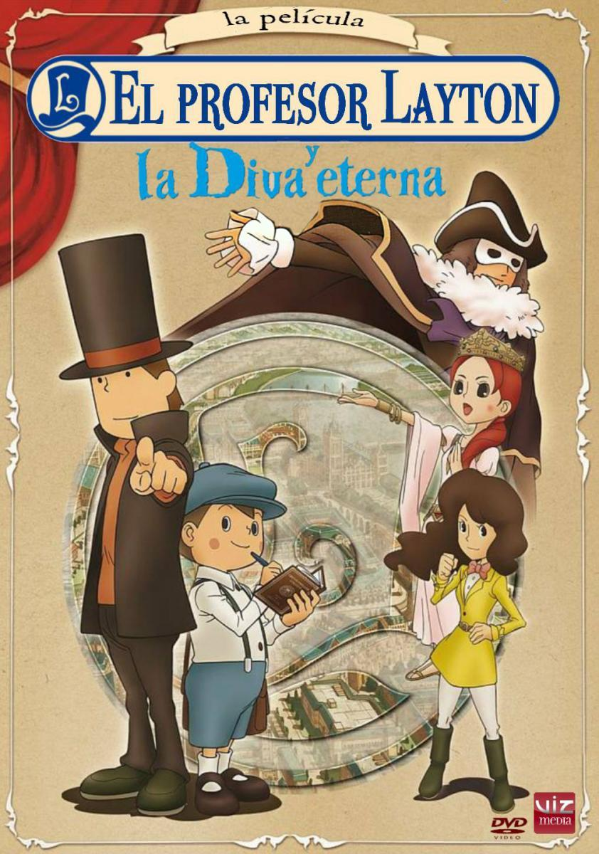 Professor Layton And The Eternal Diva 2009 Filmaffinity