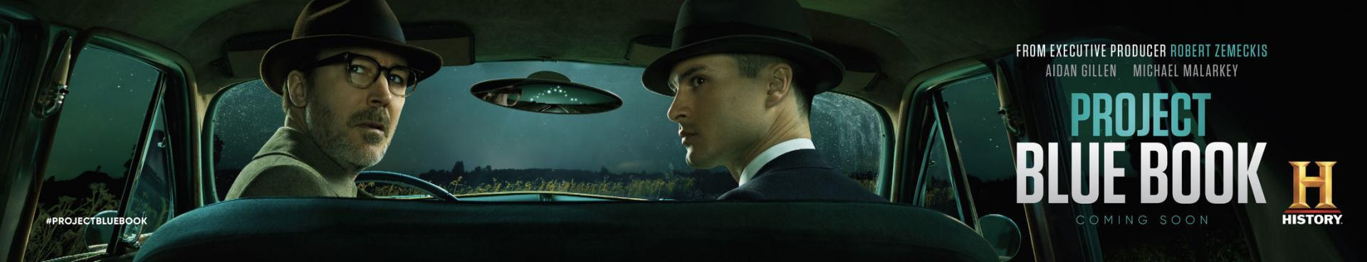 where to watch project blue book australia