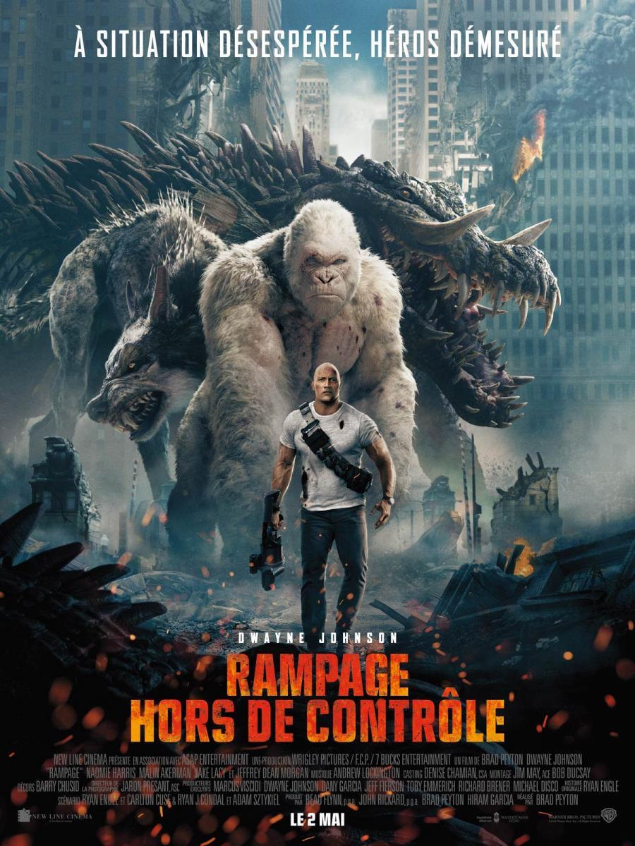Proyecto Rampage (2018) - Filmaffinity