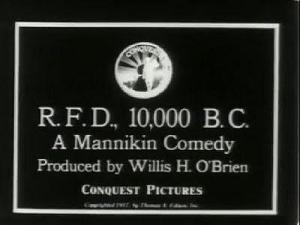 R.F.D., 10,000 B.C.: A Mannikin Comedy