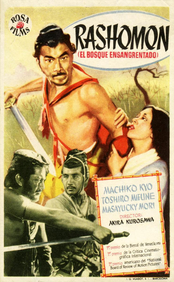 film review rashomon Film review order description film review on rashomon- 1 page- focus on characters and acting introduction paragraph- name of film, year it came out, major stars.