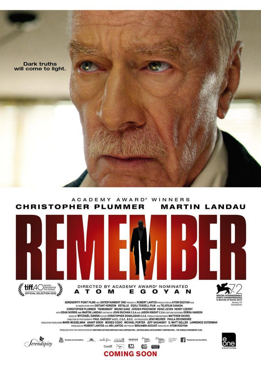 Remember (2015) - Filmaffinity