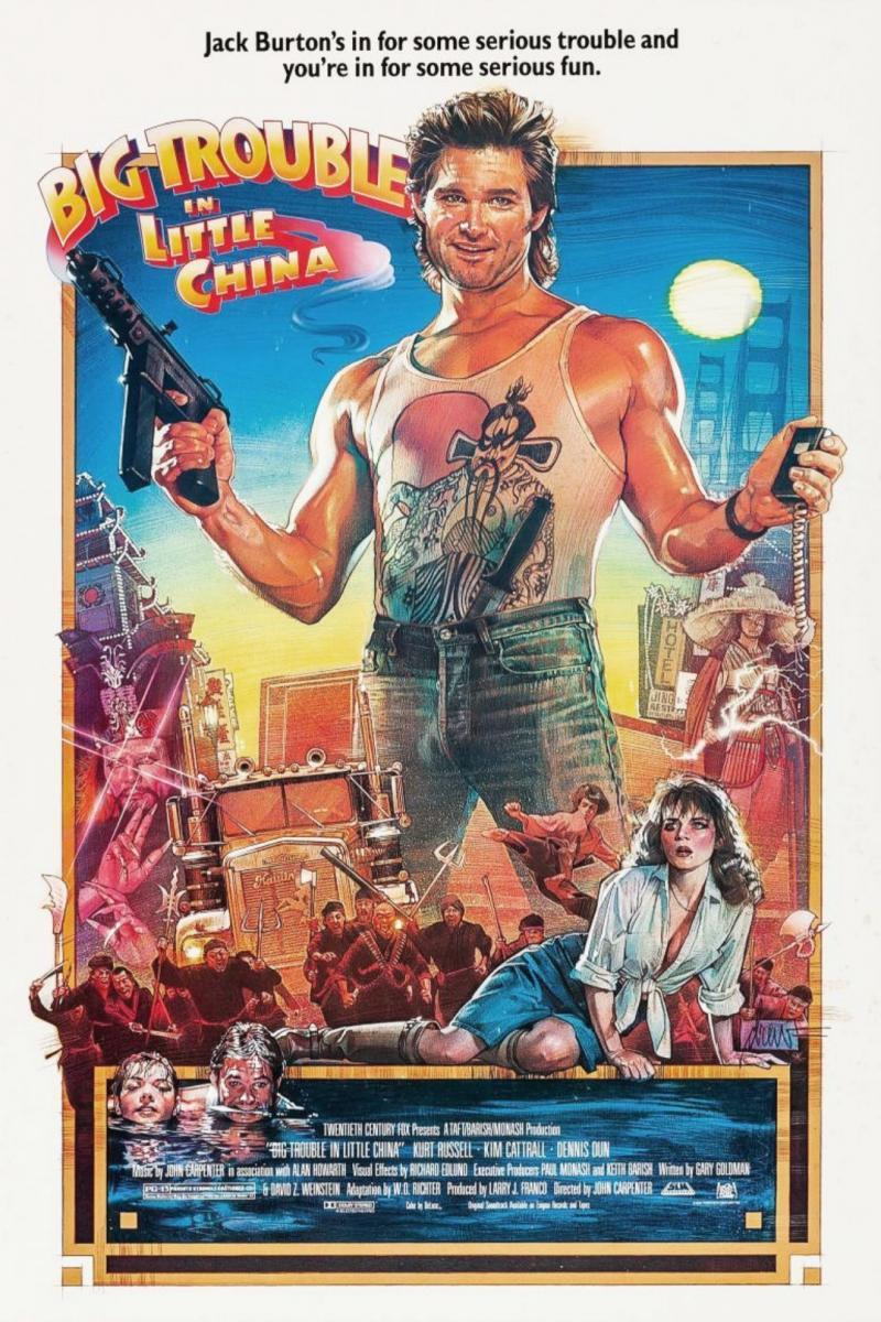 Rescate En El Barrio Chino 1986 Filmaffinity