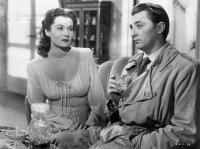Rhonda Fleming & Robert Mitchum