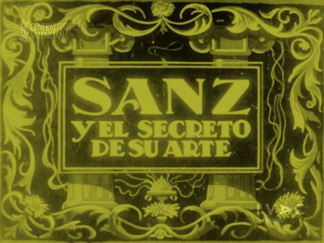Image Gallery For Sanz Y El Secreto De Su Arte 1918 Filmaffinity