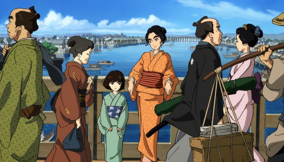 Sarusuberi: Miss Hokusai - Castellano