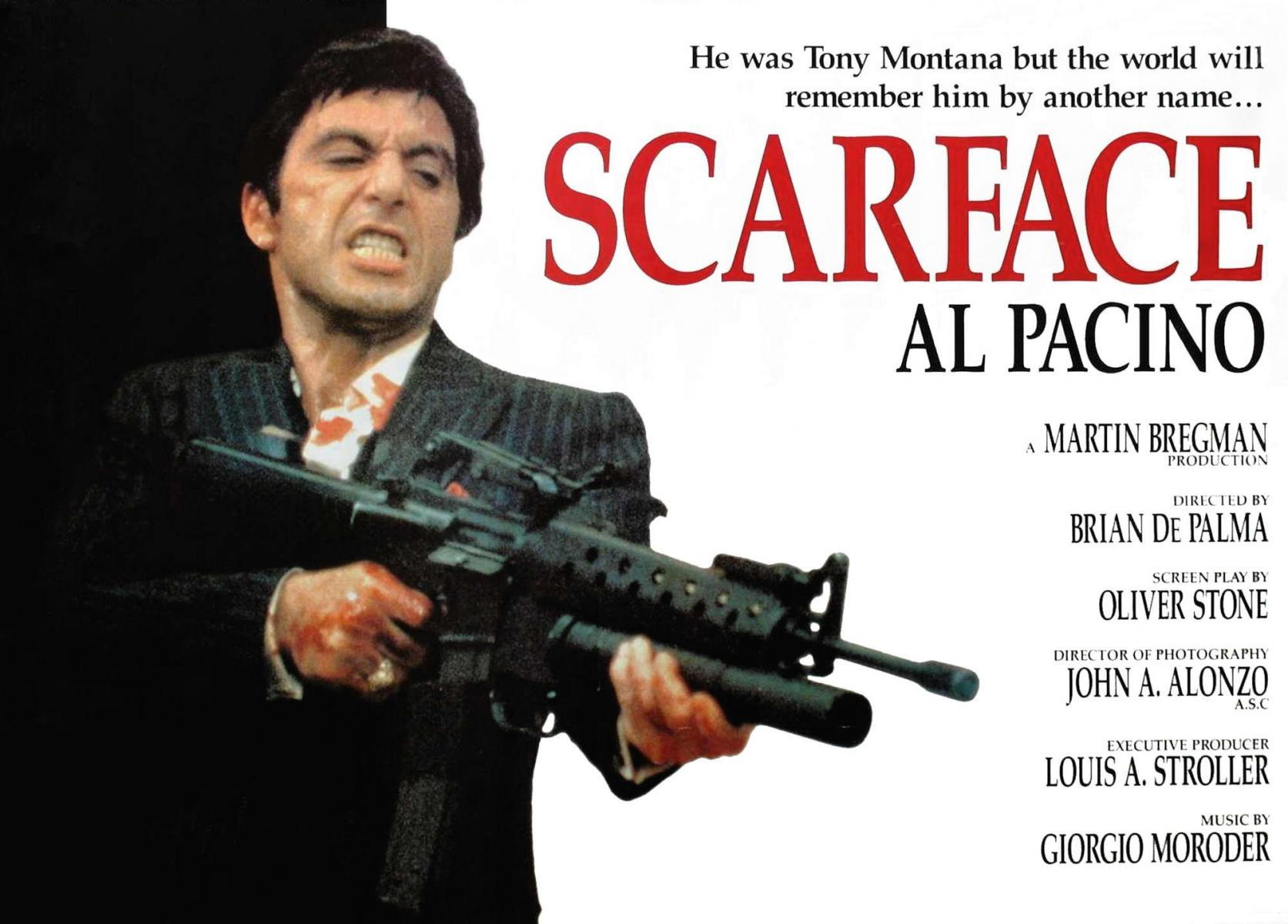 a recommendation for the movie scarface Can't find a movie or tv show login to create it en login  tony 'scarface' camonte ann dvorak cesca camonte  recommendations 04/23/1931 the public .