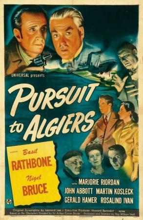 Sherlock Holmes: persecución en Argel