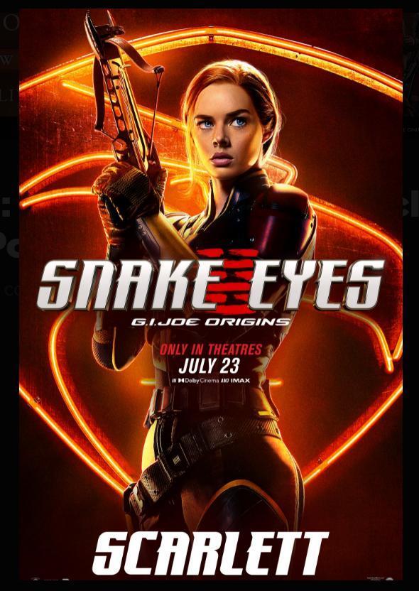 Snake Eyes El Origen 2021 Filmaffinity