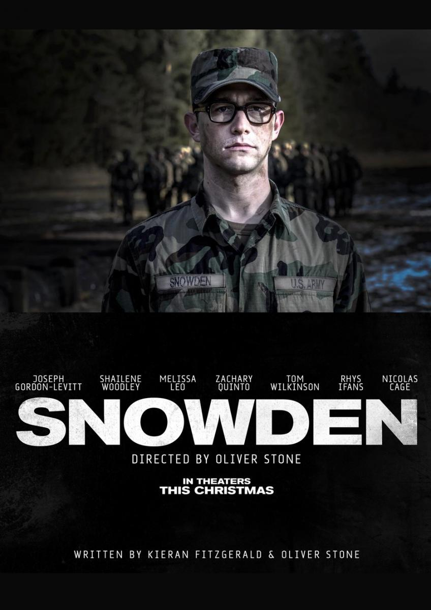 Snowden Película Completa HD 720p [MEGA] [LATINO]