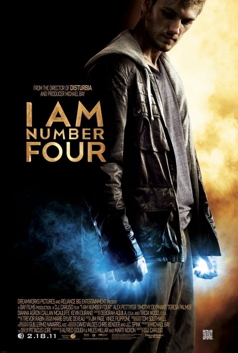Soy El Numero Cuatro [2011] HD [1080p] Latino [GoogleDrive] SilvestreHD