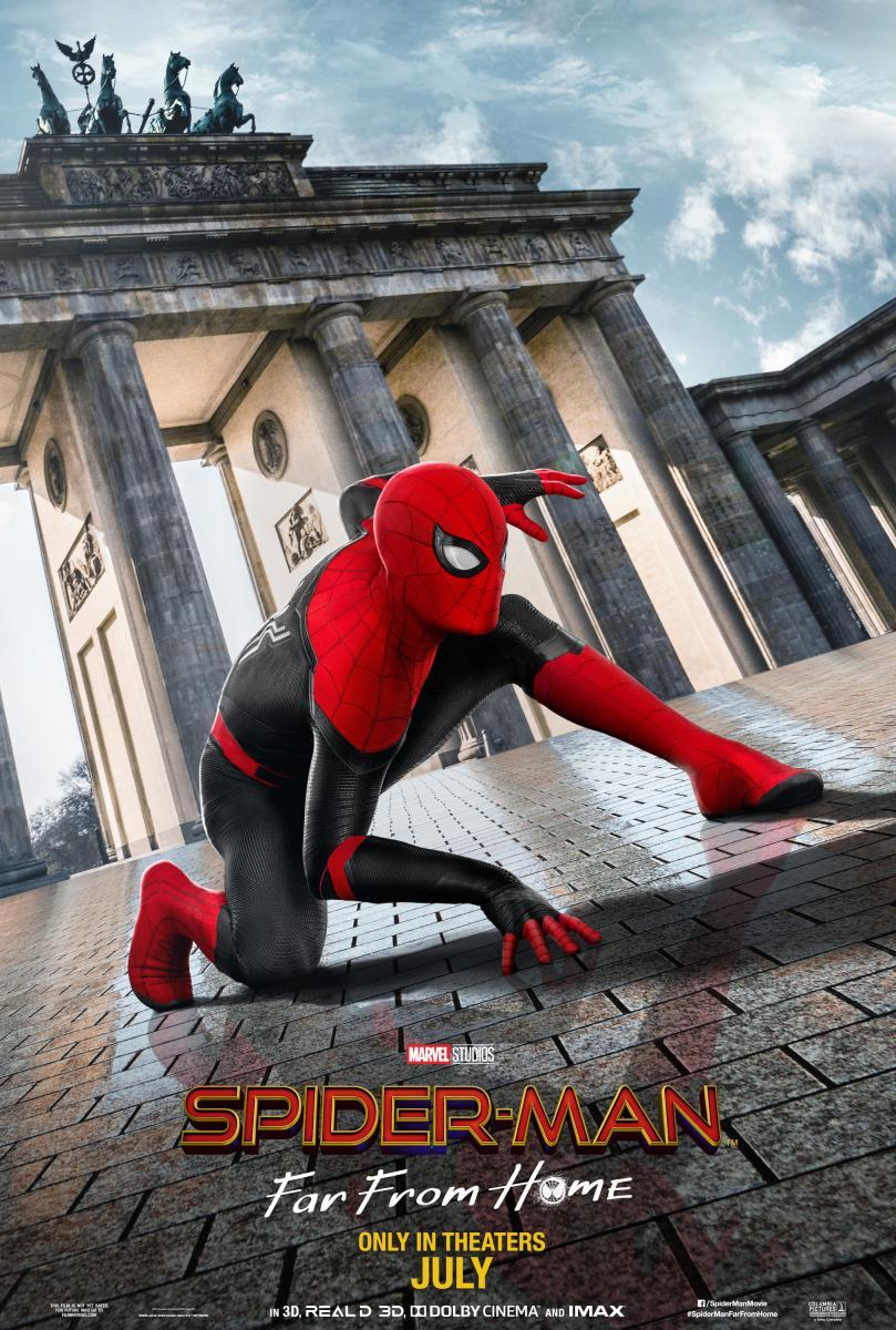 spiderman movie after far from home