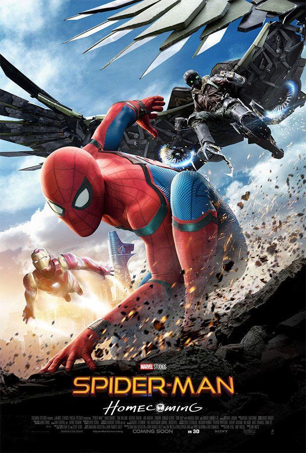 Spider-Man: Homecoming las 50 mejores películas de superhéroes marvel
