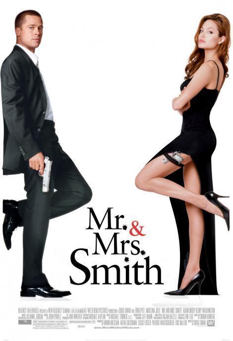 Sr Y Sra Smith 2005 Filmaffinity