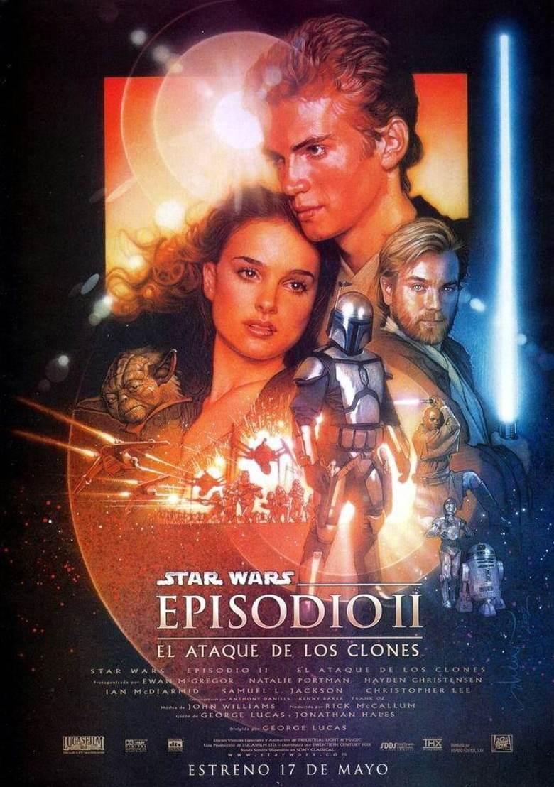 Star Wars Episodio II: El Ataque De Los Clones (BRRip Latino – Ingles – Castellano 1080p) 2002