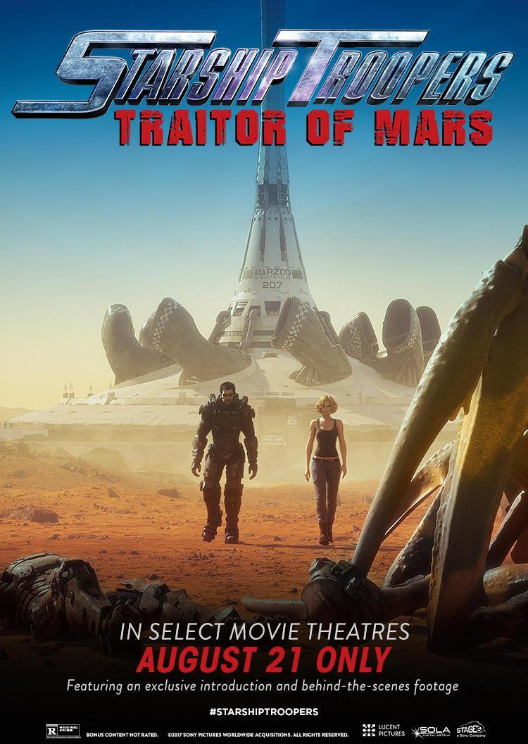Image Gallery For Starship Troopers Traitor Of Mars Filmaffinity