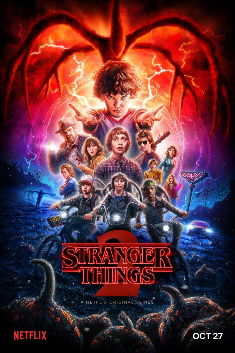 Stranger Things Temporada 2 (HD Latino – Ingles 720p) 2017