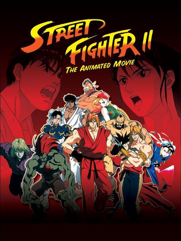 Uliczny wojownik 2 / Street Fighter II: The Animated Movie (1994) PL.480p.BRRip.XviD-NN / Lektor PL