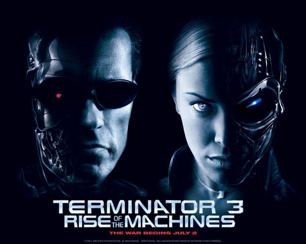 Sección Visual De Terminator 3 La Rebelión De Las Máquinas