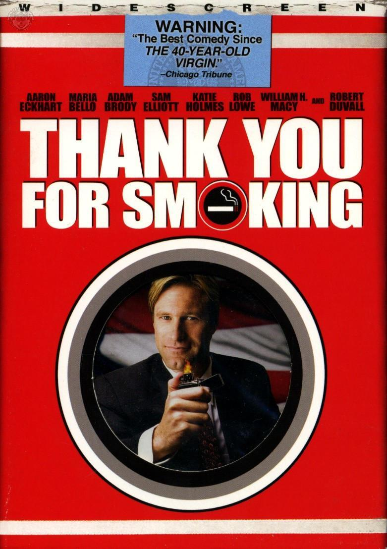 Thank You For Smoking Book