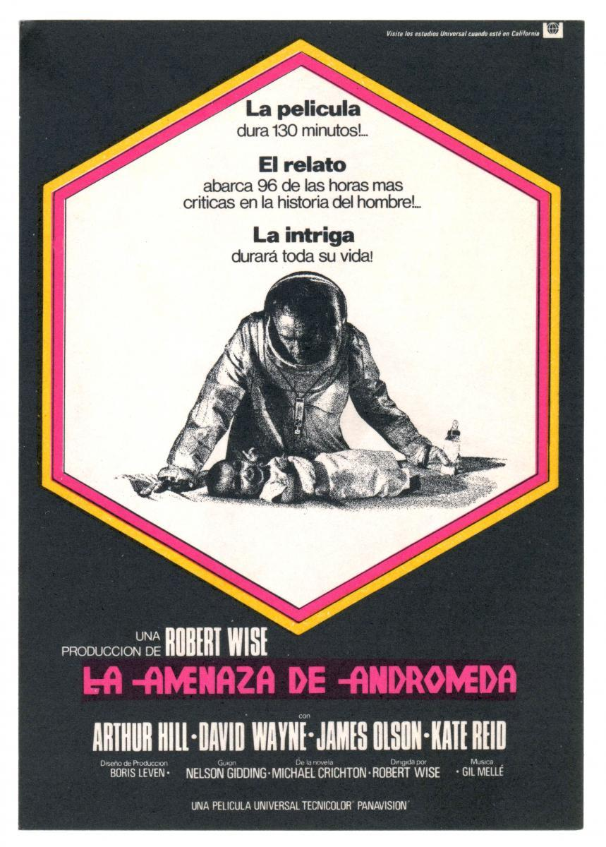 an analysis of andromeda strain a movie by robert wise 'the andromeda strain' is an engrossing film from beginning to end it is science fiction, alien virus comes to earth type thing, but has more depth than just that the.