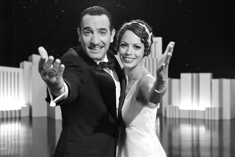 The Artist (2011), dirigida por Michel Hazanavicius. Películas en blanco y negro recientes