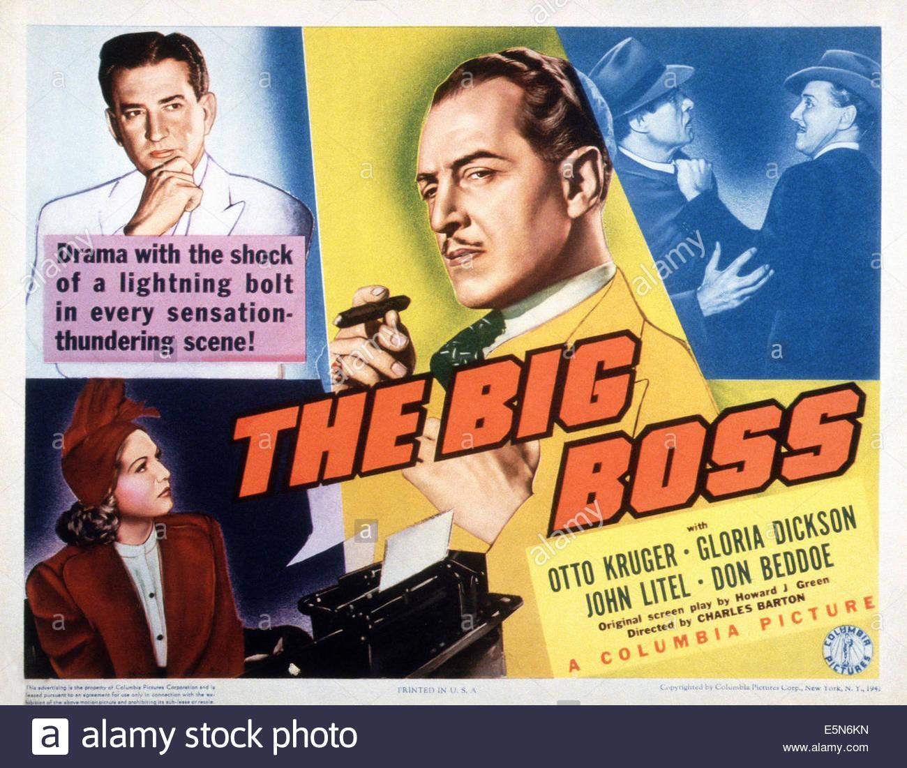 The Big Boss 1941 Filmaffinity