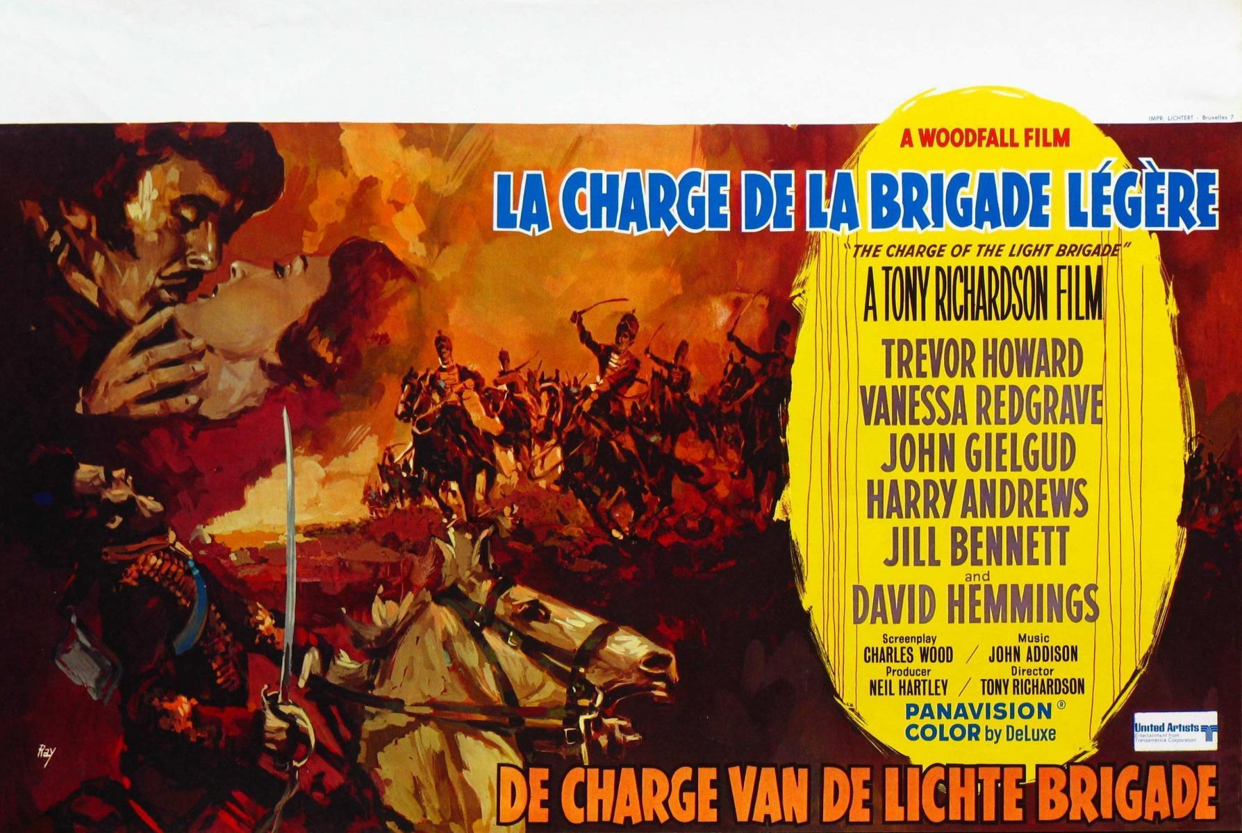 power of imperialism in movies the charge of the light brigade and the wind and the lion The british light brigade at balaclava the death-ride ( todesritt ) of bredow's brigade at vionville (aka mars-la-tour) the last known full-scale cavalry charge happened during the battle of moscow during wwii.