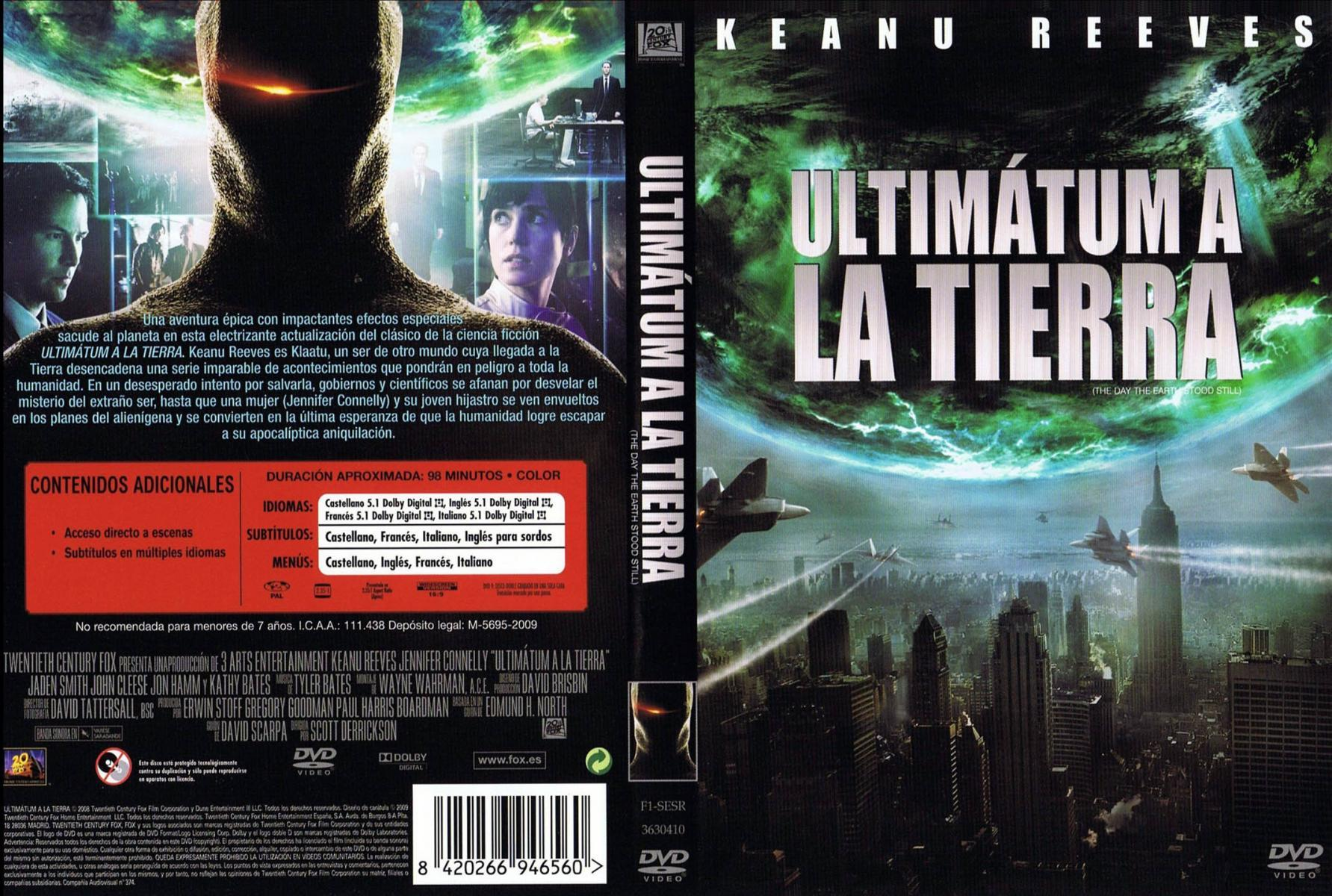 The Day The Earth Stood Still 2008 Filmaffinity