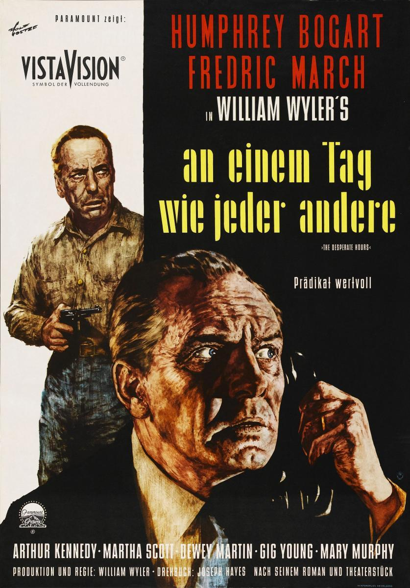 The Desperate Hours 1955 Filmaffinity Desperate hours is the 1990 remake of the 1955 humphrey bogart thriller the desperate hours. the desperate hours 1955 filmaffinity