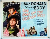 The Girl of the Golden West  - Posters