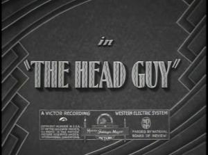 The Head Guy (C)