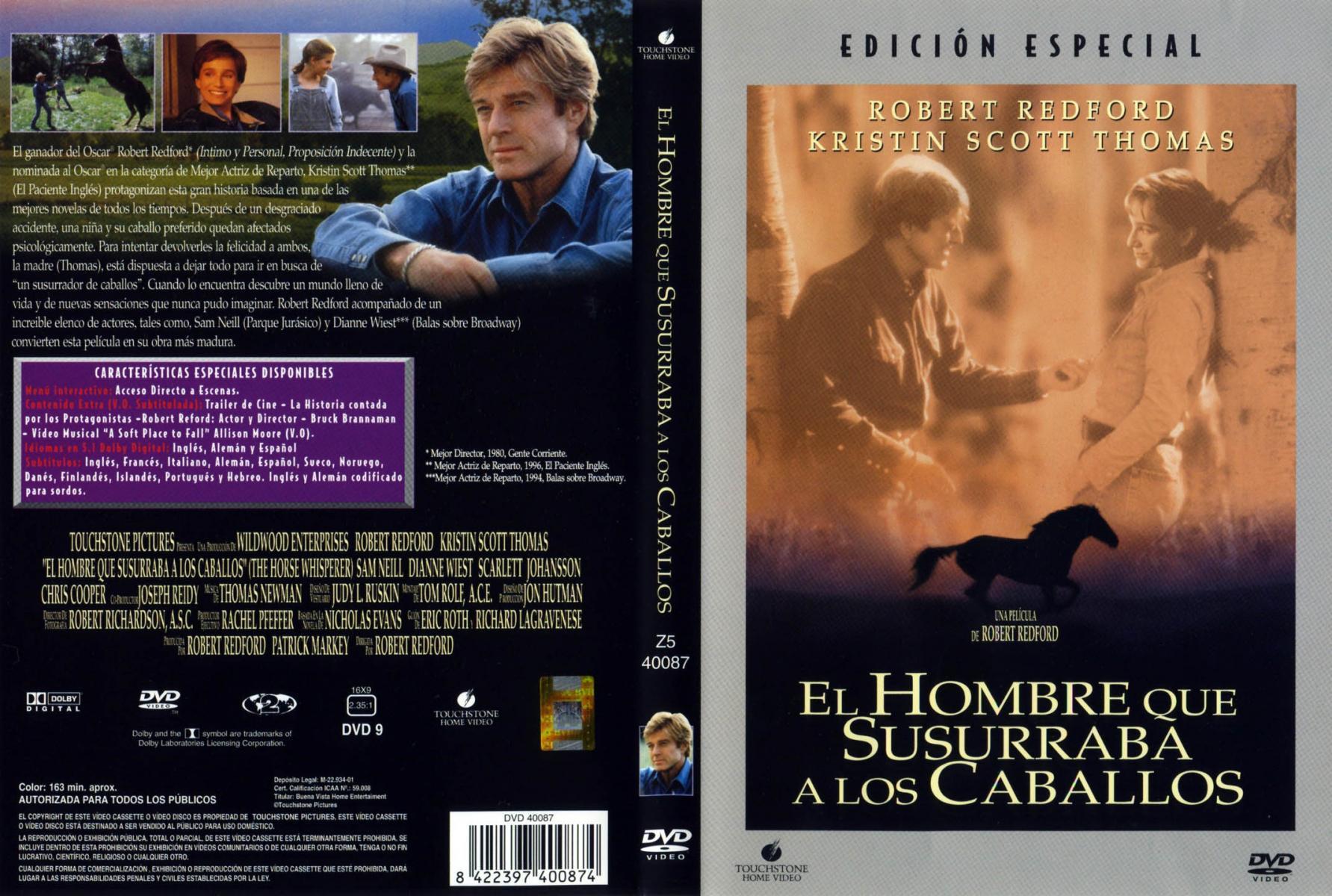 The Horse Whisperer 1998 Filmaffinity