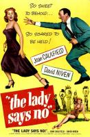 The Lady Says No  - Poster / Imagen Principal