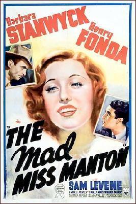 Image result for The Mad Miss Manton 1938 caretaker