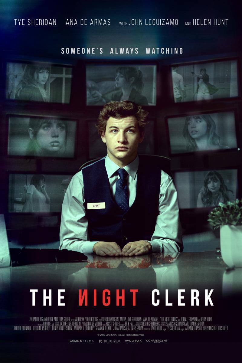 The Night Clerk (2020) - Filmaffinity