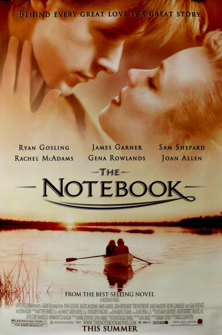 the notebook a film The notebook is a 2004 romantic drama film directed by nick cassavetes, based on the romance novel of the same name by nicholas sparks the film stars ryan g.
