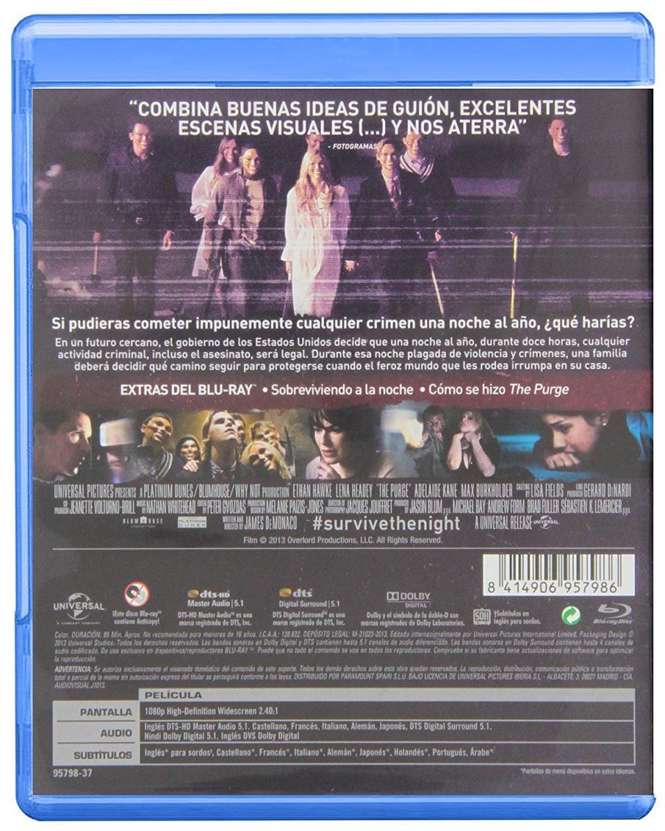 The Purge (2013) - Filmaffinity