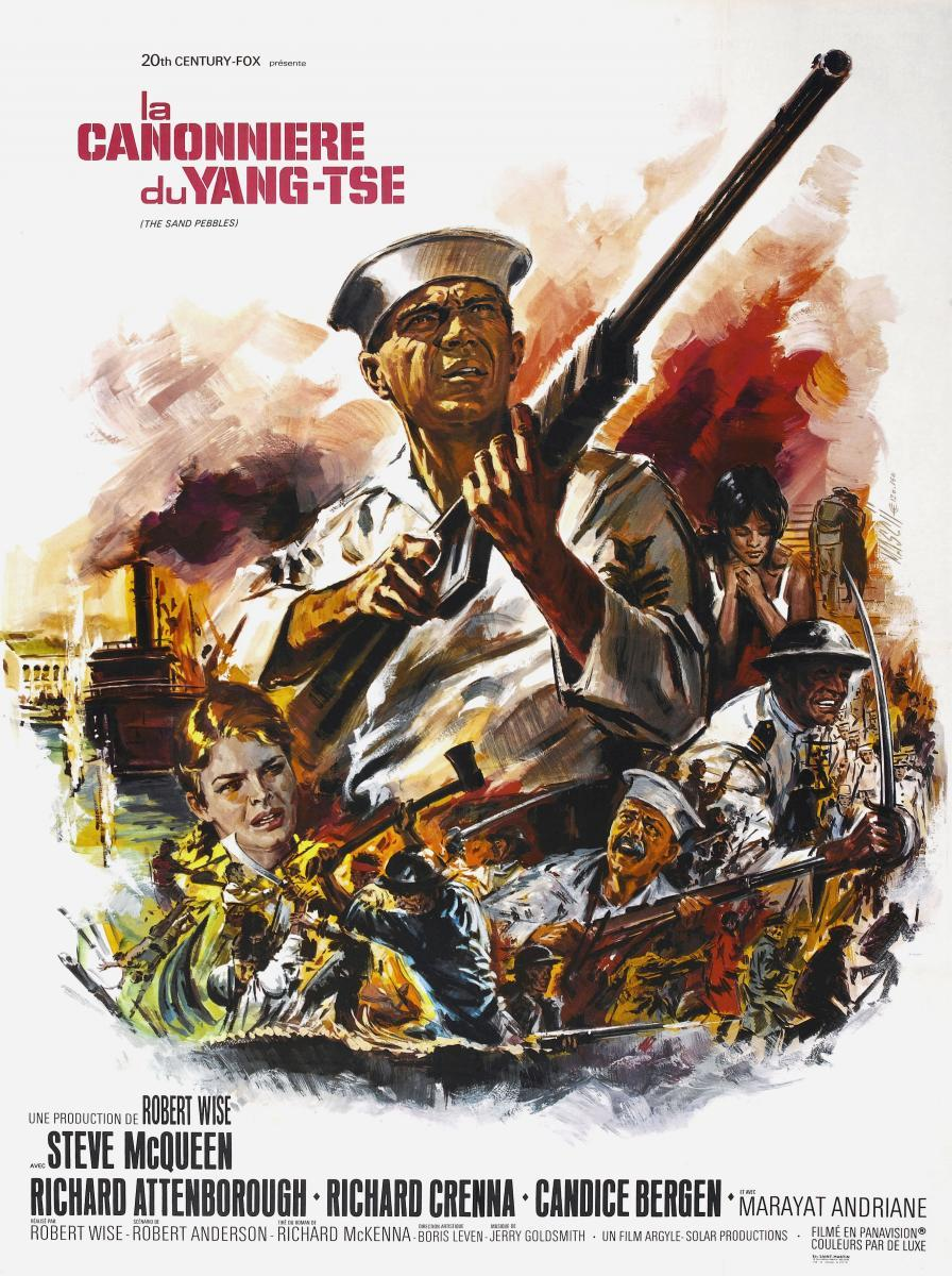 the flag in the movie sand pebbles You can watch the sand pebbles (1966) onlinefor free on this page by streaming the movie in the video player above or by choosing a external version below to play this movie is hosted on.