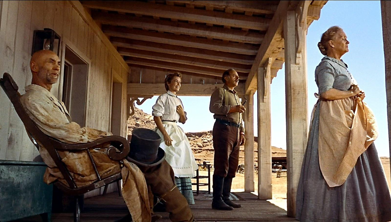 an analysis of framing techniques in the screening of the searchers by john ford Watch video directed by fred zinnemann with gary cooper, grace kelly, thomas mitchell, lloyd bridges a town marshal, despite the disagreements of his newlywed bride and the.