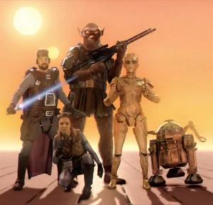 The Star Wars: Concept Trailer (C)