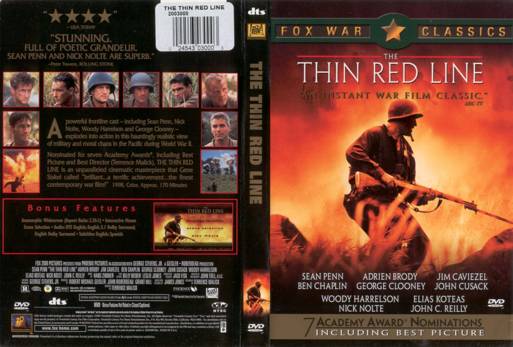 image gallery for the thin red line filmaffinity
