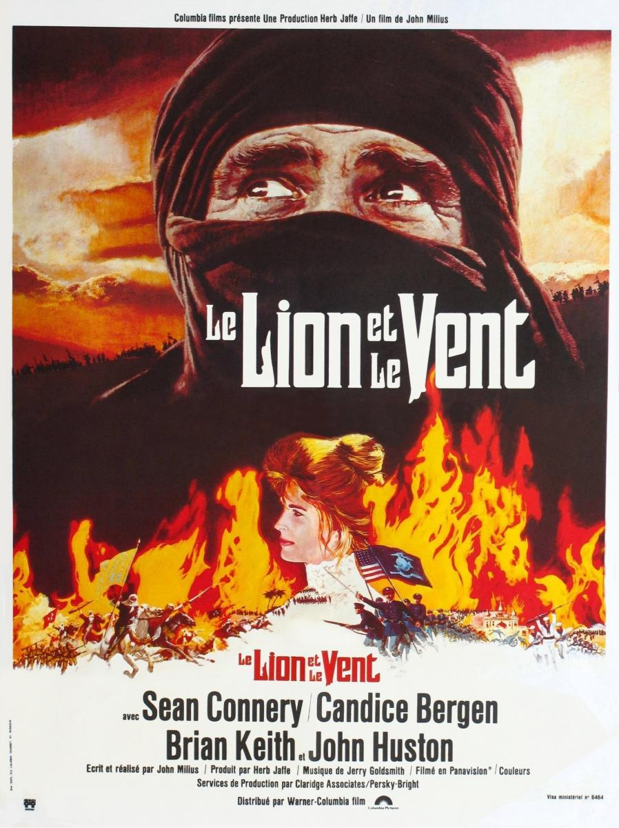 The wind and the lion movie