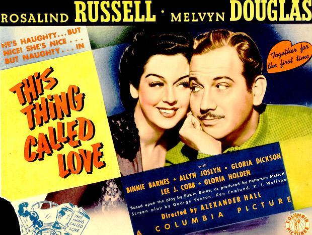 Image result for imagesof Binnie Barnes in this thing called love with Rosalind russell